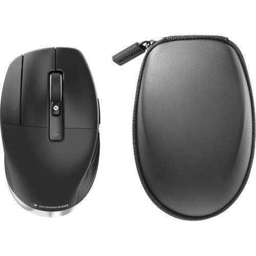 Image of 3Dconnexion CadMouse Pro Wireless - Mouse - Ergonomic - Left-Handed - 7 Buttons - Wireless - Bluetooth, 2.4 GHz - USB Wireless Receiver Audio & Video Accessories
