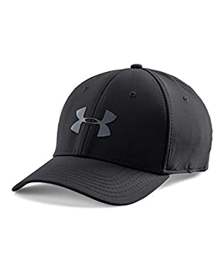Under Armour Men's Headline Stretch Fit Cap from Under Armour Accessories