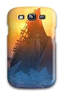 New Tpu Hard Case Premium Galaxy S3 Skin Case Cover(walk On The Beach)