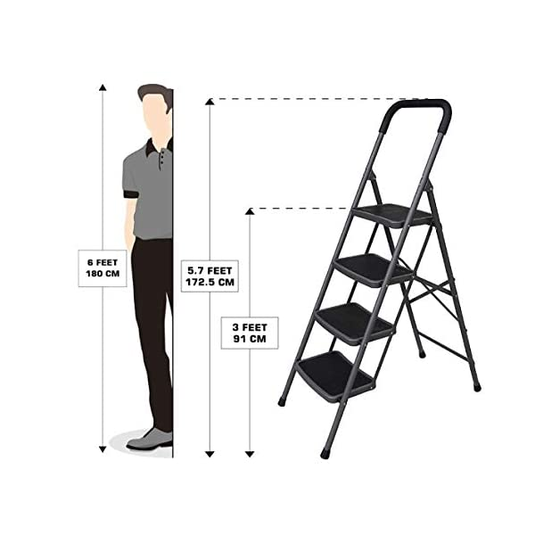 Bathla-Boost-4-Step-Foldable-Steel-Ladder-with-Anti-Slip-Steps