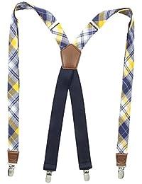 Dockers Men's Docker's 1 Inch Plaid Suspenders