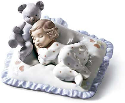 Lladro Counting Sheep Figurine