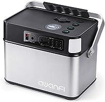 AWANFI ポータブル電源 大容量 140277mAh/505Wh 蓄電池 正弦波 2AC(定格500W 最大600W 瞬間800W)/DC/USB/QC3.0 急速充電対応 ソーラー充電 50Hz/60Hz切替え PSEマーク付き...