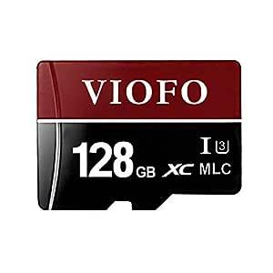 VIOFO - Tarjeta de Memoria Micro SD U3 de 128 GB de Alta Velocidad ...