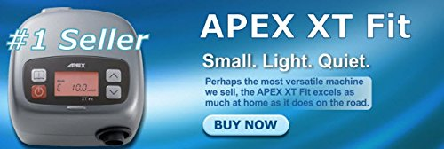 Apex Medical XT-FitCPAP Machine with Heated Humidifier by Apex Medical (Image #8)