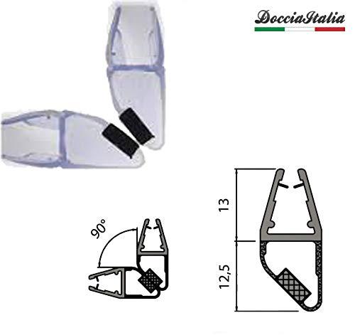 Guarnizione Magnetica 90/° per Box Doccia 200 cm vetro 6//8 mm