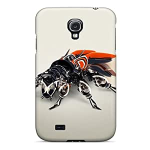 Hot RHTcdvv7856obCCI Mechanical Bug Tpu Case Cover Compatible With Galaxy S4 by supermalls