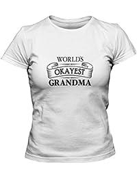 Women's Worlds Okayest Grandma T-Shirt