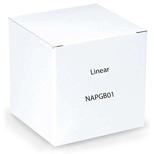 Linear NAPGB01 Supervised Wireless Glass Break Detector Transmitter, White ()