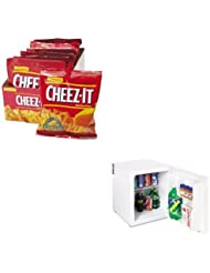 KITAVASHP1700WKEB12233 - Value Kit - Avanti 1.7 Cu.ft Superconductor Compact Refrigerator (AVASHP1700W) and Kelloggs Cheez-It Crackers (KEB12233)