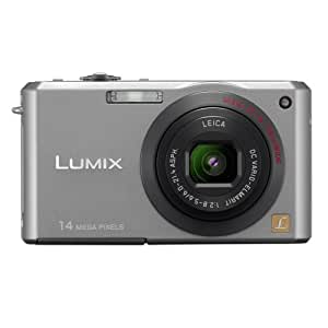 Panasonic DMC FX-150S 14.7MP Digital Camera with 3.6x Wide Angle MEGA Optical Image Stabilized Zoom (Silver)