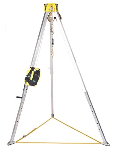 MSA Workman 8' Confined Space Kit with Aluminum Tripod and 65' (Confined Space Tripod)