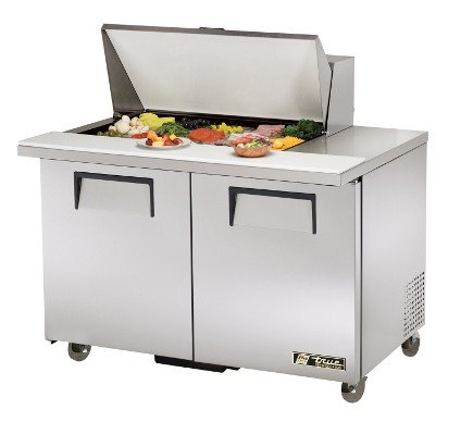 Ada 2 Door Sandwich - Mega Top Sandwich/Salad Unit True Refrigeration TSSU-48-15M-B-ADA (Each)