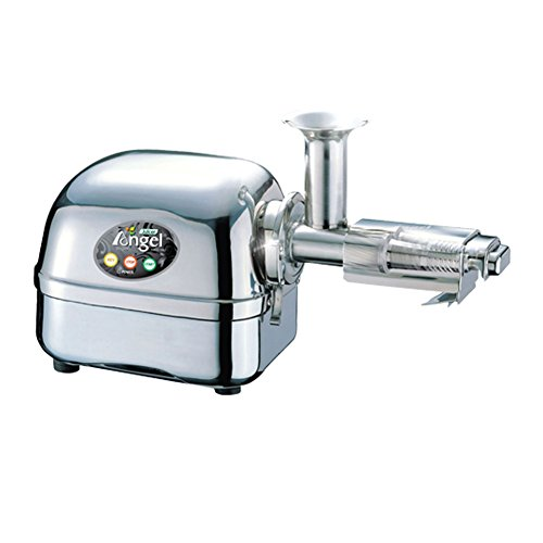 ANGEL JUICER ANG-8000SS Premium Angelia 316 Stainless Steel Double Gear Auger Juice Extractor Full Stainless (Double Masticating Juicer compare prices)