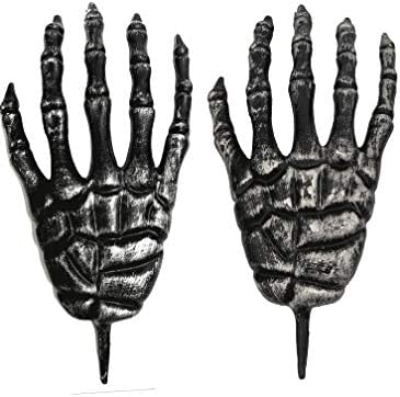 Hands Coming Out of Ground Breaker Stakes Halloween Lawn Bones Hand Stake Decor