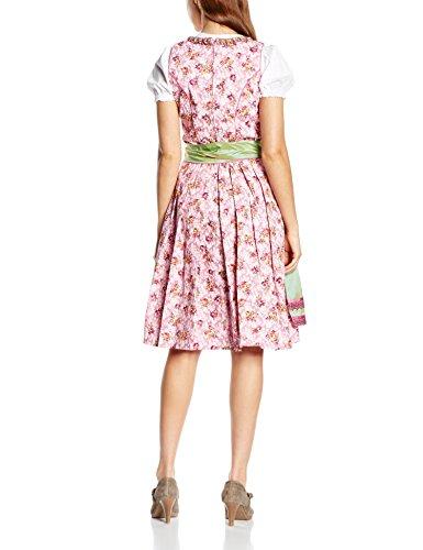 Edel Herz WIGE201A, Vestido Tradicional Austriaco, Mujer Rosa (Rose 439)
