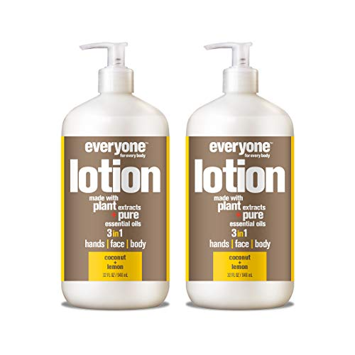 Everyone Lotion, Coconut and Lemon, 32 Ounce, 2 Count