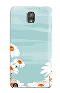 Hot Fashion WhpawMC11841pJJdP Design Case Cover For Galaxy Note 3 Protective Case (white Flowers And Sky Beautiful Spring Blue Nature Flower)