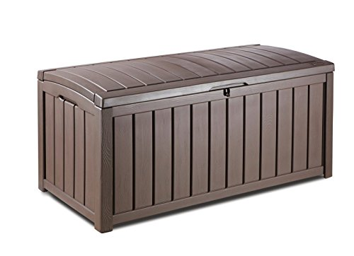 Drawer Armoire Deck (Glenwood Plastic Deck Storage Container Box Outdoor Patio)