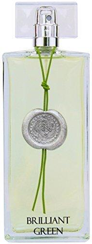Greendoor Eau de Parfum (EdP) Brilliant Green, frisches Damen Bio Parfüm aus der Manufaktur, 50ml, Naturkosmetik, tolles Geschenk Weihnachten Geschenke, Weihnachtsgeschenk