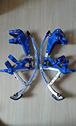 Kids/Child Youth Kangaroo Shoes Jumping Stilts Fitness Exercise (88-132lbs/40~60kg)(blue)
