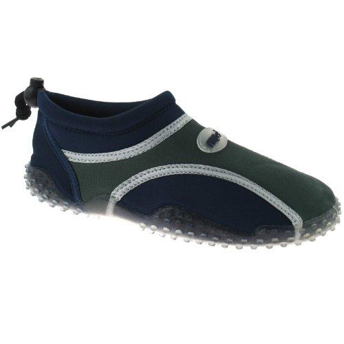PDQ - Sandalias para niño multicolor azul marino/gris