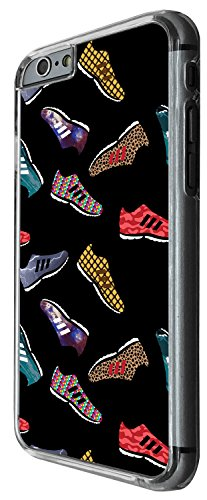 1299 - Cool Fun Trendy cute kwaii collage trainers shoes shopping running shoes Design iphone 6 Plus / iphone 6 Plus S 5.5'' Coque Fashion Trend Case Coque Protection Cover plastique et métal - Clear