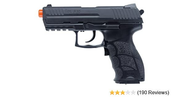 Amazon.com : H&K P30 Electric Airsoft Pistol airsoft gun : Blowback