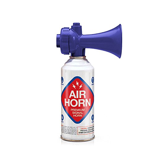 K3 Brands USCG Rated Premium Air Horn - Non-Flammable, 3.5 oz.