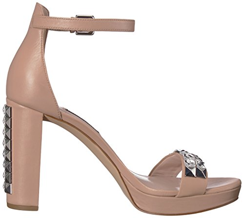 West Natural Dallerly Light Heeled Leather Women's Sandal Nine 6axvUa