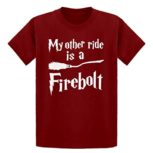Youth My Other Ride is a Firebolt Youth M - (8-10) Red Kids T-Shirt