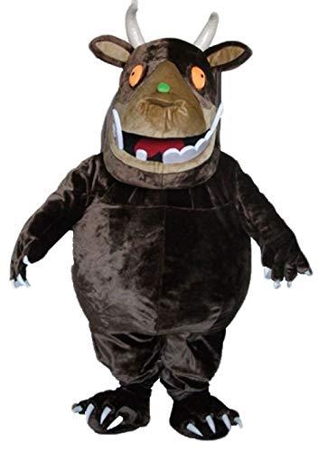 Gruffalo Costumes Adults - ARISMASCOTS Funny Adult Size Cartoon Character