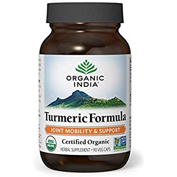 reliable ORGANIC INDIA Natural Turmeric Root Veg Capsules