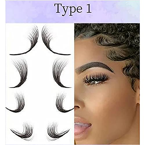 Baby Hair Tattoo Stickers,Salon Hairstyling Template Hair Stickers Waterproof,DIY Hairstyling - Waterproof Long Lasting Makeup Tool (1PC-A)