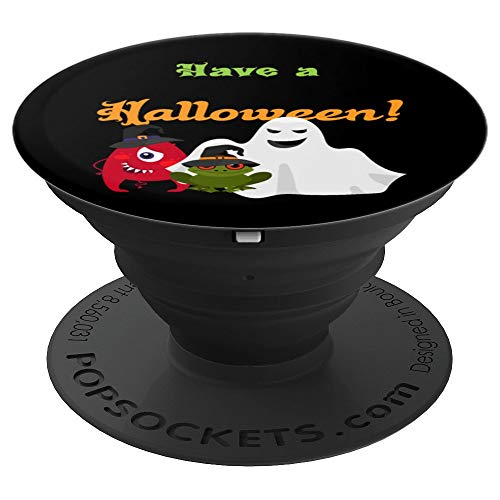 Funny Cute Have a Fabulous Halloween! Cartoon Spooky Grip - PopSockets Grip and Stand for Phones and Tablets]()