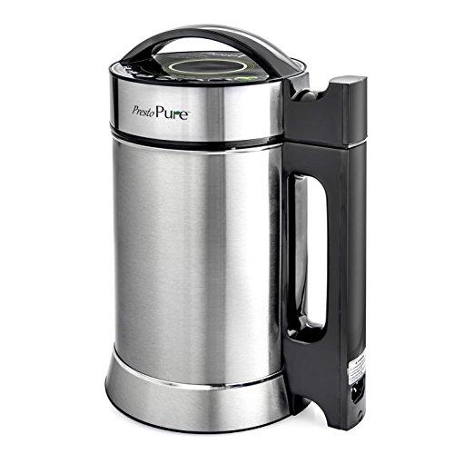 Presto Pure IAE15 - 1.9 Liter Automatic Hot Soy Milk (Almond, Rice, Quinoa Milk) Soup, Porridge & Cold Juice Maker
