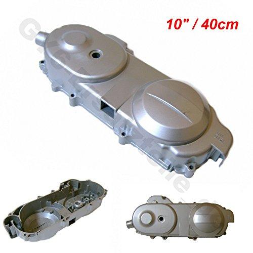 Crankcase Case - CRANKCASE/ BELT ENGINE COVER SHORT CASE 40CM 50-80cc SILVER CHINESE SCOOTER GY6 139QMA/B PEACE VIP SUNL KYMCO TAOTAO JONWAY ROKETA ZNEN JMSTAR BMS JCL TANK ....