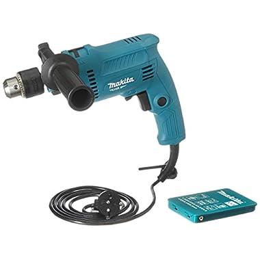 Makita M0801BX2 16mm Heavy Duty Hammer Drill Machine Free Thakita 13 pcs metal drill bit set 3