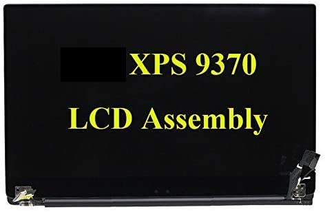 3840x2160 Resolution 13.3 inch LCD Touch Screen for Dell XPS 13 9370 LCD Touch Screen Complete Assembly