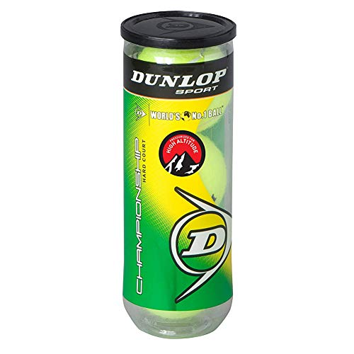 Dunlop Sports Championship High Altitude Tennis Balls (Can)