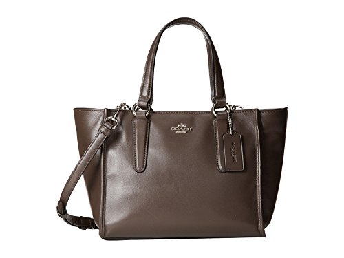 Coach Crossbody Mini Carryall Smooth Leather in Brown Mink