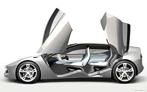 Pininfarina Sintesi 2 24X36 Metal Aluminum Wall Art