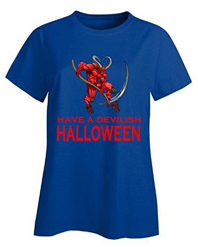Satan (Mom And Daughter Halloween Costumes Ideas)