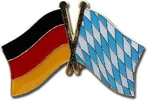 Bavaria - German Bundeslaender Friendship Lapel Pin
