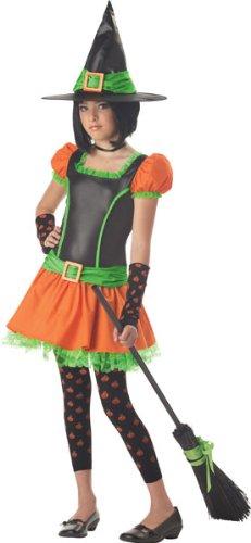 Tween/Teen Pumpkin Witch Costume - Large