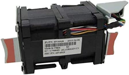 6PCS Cooler Fan for IBM X3550 M2 M3 Cooling Fan Nidec R40W12BS2CA-57A05 43V6928 43V6929