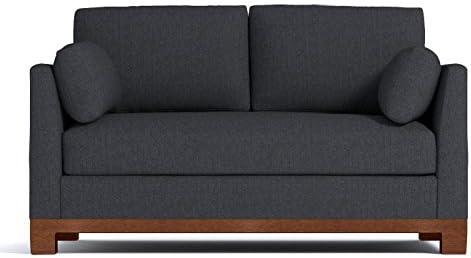 Amazon.com: Avalon Apartment Size Sofa, Charcoal, 71\