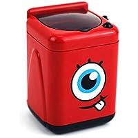 YYCOOL Maquillaje Limpiador de Pinceles Mini Lavadora Juegos de rol para niños de 3 años +