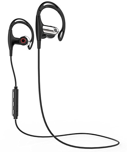 bluetooth headphones fospower wireless bluetooth 4 1 earbuds ipx4 sweatproof noise isolating. Black Bedroom Furniture Sets. Home Design Ideas