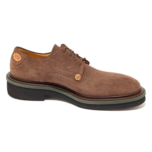 Shoe 308 Vintage Men Marrone Suede Uomo Scarpa Madison Sigaro Paciotti Brown 9574r Z1z7Bz